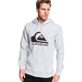 Quiksilver Omni Logo Screen Fleece Hoodie Heren, athletic heather